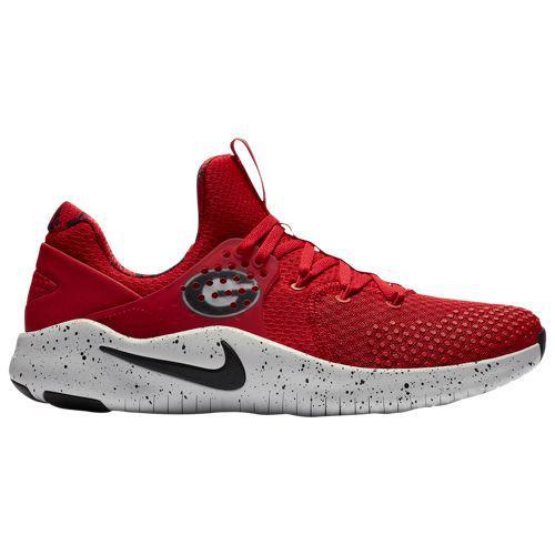 (取寄)ナイキ メンズ NCAA フリー トレーナー V8 ジョージア ブルドッグス Nike Men's NCAA Free Trainer V8 ジョージア ブルドッグス University Red Black White