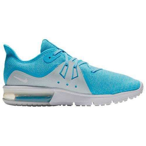 (取寄)ナイキ レディース エアマックス シークエント 3 Nike Women's Air Max Sequent 3 Blue Fury White Glacier Blue
