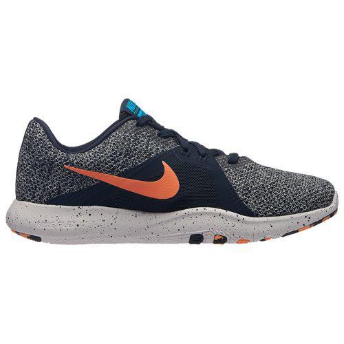 (取寄)ナイキ レディース フレックス トレーナー 8 トレーニングシューズ Nike Women's Flex Trainer 8 Obsidian Orange Pulse Blue Glow