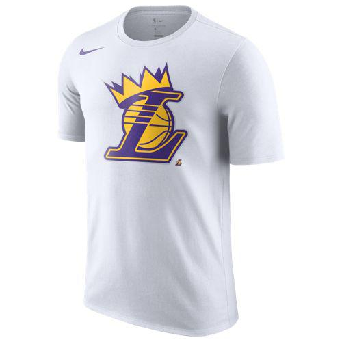 (取寄)ナイキ メンズ NBA クラウン Tシャツ ロサンゼルス レイカーズ Nike Men's NBA Crown T-Shirt ロサンゼルス レイカーズ White