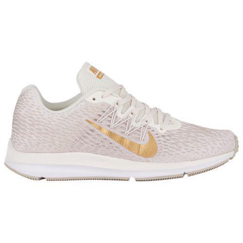 (取寄)ナイキ レディース ズーム ウィンフロー 5 Nike Women's Zoom Winflo 5 Phantom Mtlc Gold String White