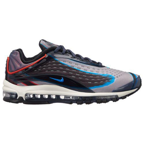 (取寄)ナイキ メンズ エア マックス デラックス Nike Men's Air Max Deluxe Thunder Blue Photo Blue Wolf Grey Black