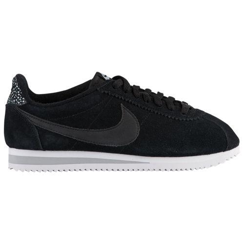 (取寄)ナイキ レディース クラシック コルテッツ プレミアム Nike Women's Classic Cortez Premium Black Black Wolf Grey White