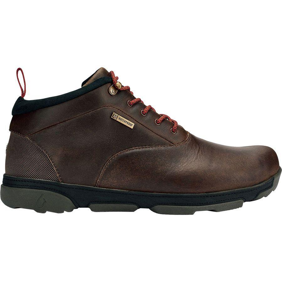 (取寄)オルカイ メンズ Kualono WP ブーツ Olukai Men's Kualono WP Boot Espresso/Black