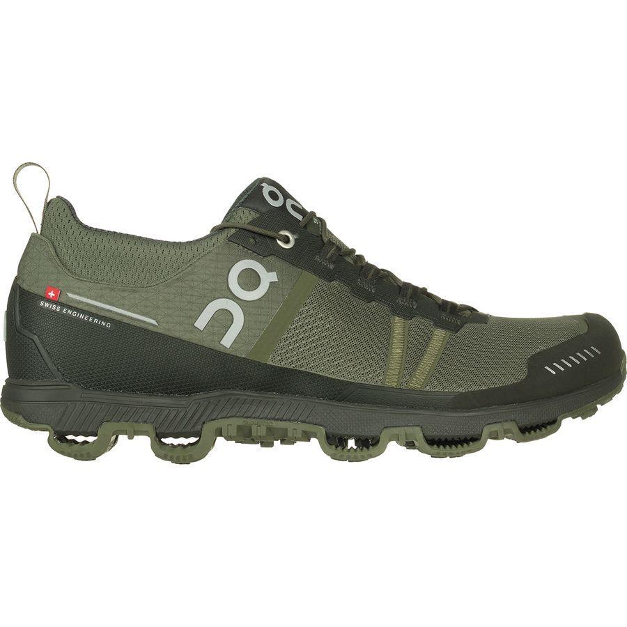 (取寄)オン フットウェアー メンズ Cloudventureミッドトップ ランニングシューズ On Footwear Men's Cloudventure Midtop Running Shoe Pine/Stone