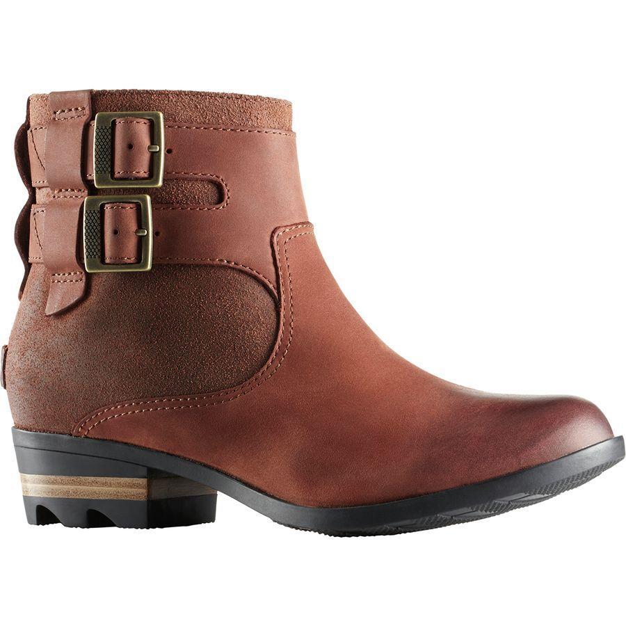 (取寄)ソレル レディース ローラ ブーティー ブーツ Sorel Women Lolla ie Boot Burro/Buffalo
