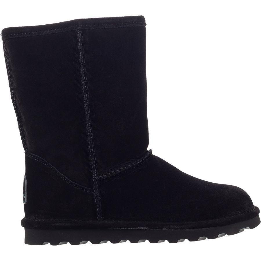 (取寄)ベアパウ レディース エル ショート ブーツ Bearpaw Women Elle Short Boot Black