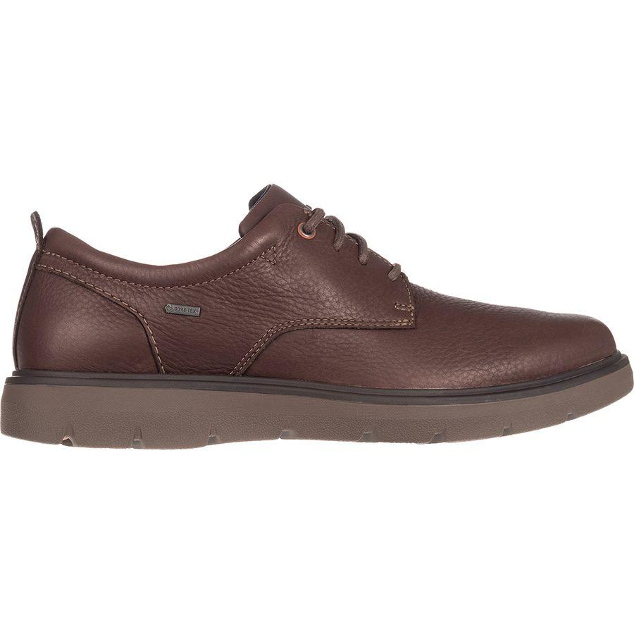(取寄)クラークス メンズ Unマップ ロー Gtx シューズ Clarks Men's Un Map Lo GTX Shoe Dark Brown Leather