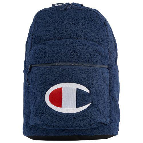 (取寄)チャンピオン メンズ スーパーサイズ シェルパ バックパック Champion Supercize Sherpa Backpack Navy