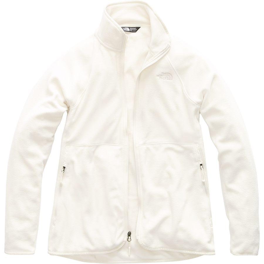 (取寄)ノースフェイス レディース グレイシャー アルパイン フルジップ ジャケット The North Face Women Glacier Alpine Full-Zip Jacket Vintage White
