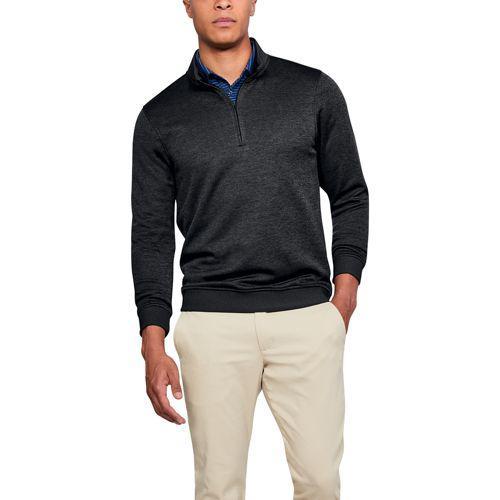 (取寄)アンダーアーマー メンズ ストーム ゴルフ セーター フリース 1/4 ジップ Underarmour Men's Storm Golf Sweaterfleece 1/4 Zip Black Full Heather Black