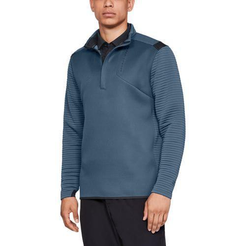(取寄)アンダーアーマー メンズ ストーム デイトナ ゴルフ 1/2 ジップ Underarmour Men's Storm Daytona Golf 1/2 Zip Static Blue Static Blue Black