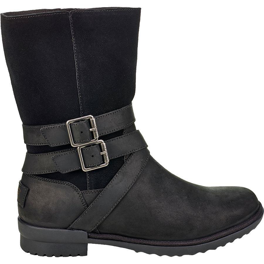【トレッキング クライミング アウトドア 登山靴】 【レディース シューズ ブーツ 大きいサイズ】 (取寄)アグ レディース ロルナ ブーツ UGG Women Lorna Boot Black