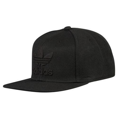 (取寄)アディダス メンズ オリジナルス トレフォイル チェーン スナップバック Men's adidas Originals Trefoil Chain Snapback Black Black