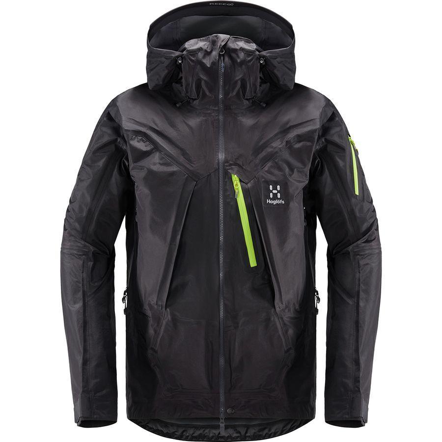 (取寄)ホグロフス メンズ ロック サミット ジャケット Haglofs Men's Roc Summit Jacket Slate
