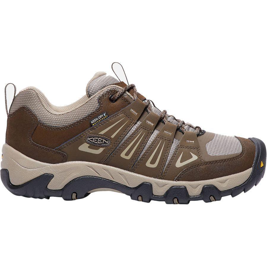 (取寄)キーン メンズ オークリッジ ハイキングシューズ KEEN Men's Oakridge Hiking Shoe Cascade/Brindle