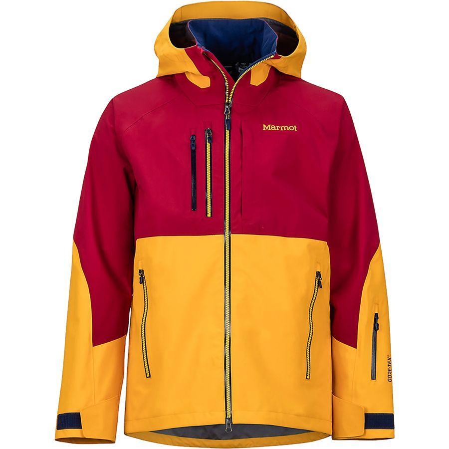 (取寄)マーモット メンズ BLプロ ジャケット Marmot Men's BL Pro Jacket Golden Sun/Sienna Red