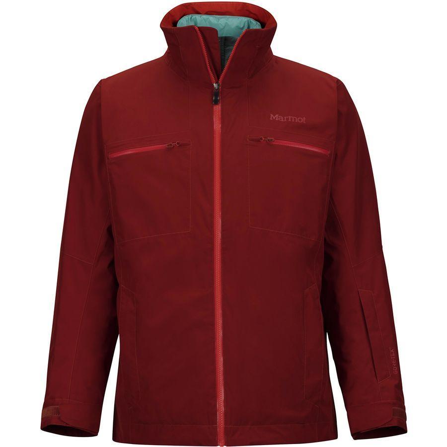 (取寄)マーモット メンズ KT コンポーネント スリーインワン ジャケット Marmot Men's KT Component 3-in-1 Jacket Dark Rust