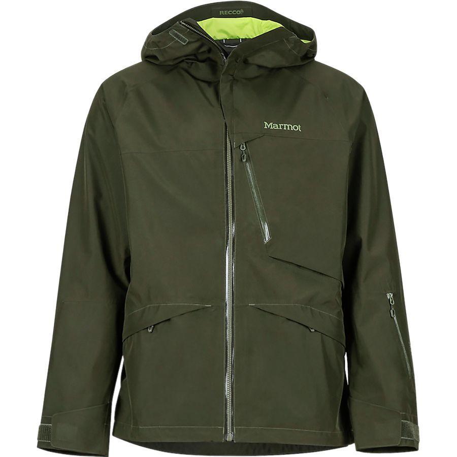 (取寄)マーモット メンズ ライトレイ ジャケット Marmot Men's Lightray Jacket Rosin Green