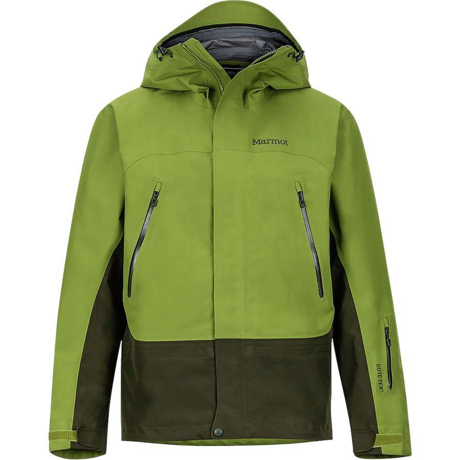 (取寄)マーモット メンズ スパイアー ジャケット Marmot Men's Spire Jacket Calla Green/Rosin Green