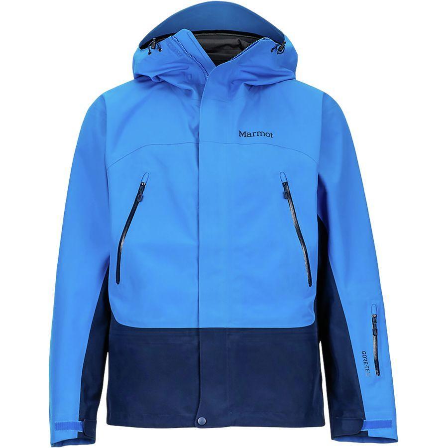 (取寄)マーモット メンズ スパイアー ジャケット Marmot Men's Spire Jacket Clear Blue/Arctic Navy