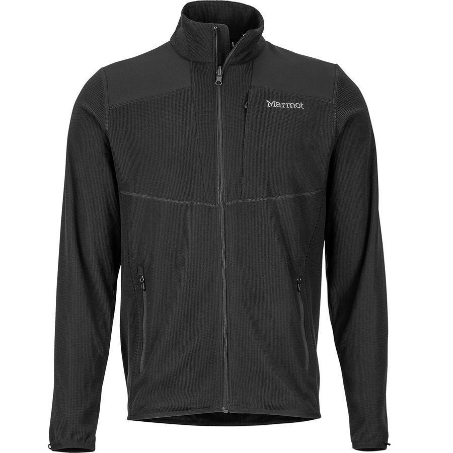 (取寄)マーモット メンズ リアクター フリース ジャケット Marmot Men's Reactor Fleece Jacket Black