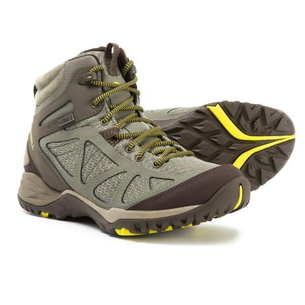 (取寄)メレル レディース サイレン スポーツ Q2 ミッド ハイキング ブーツ Merrell Women Siren Sport Q2 Mid s Hiking Boot Dusty Olive