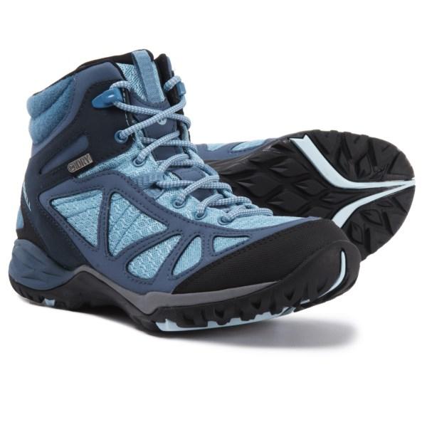 (取寄)メレル レディース サイレン スポーツ Q2 ミッド ハイキング ブーツ Merrell Women Siren Sport Q2 Mid s Hiking Boot Blue