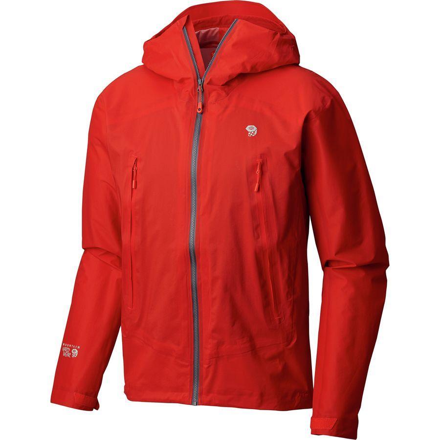 (取寄)マウンテンハードウェア メンズ クエーザー ライト 2 ジャケット Mountain Hardwear Men's Quasar Lite II Jacket Fiery Red