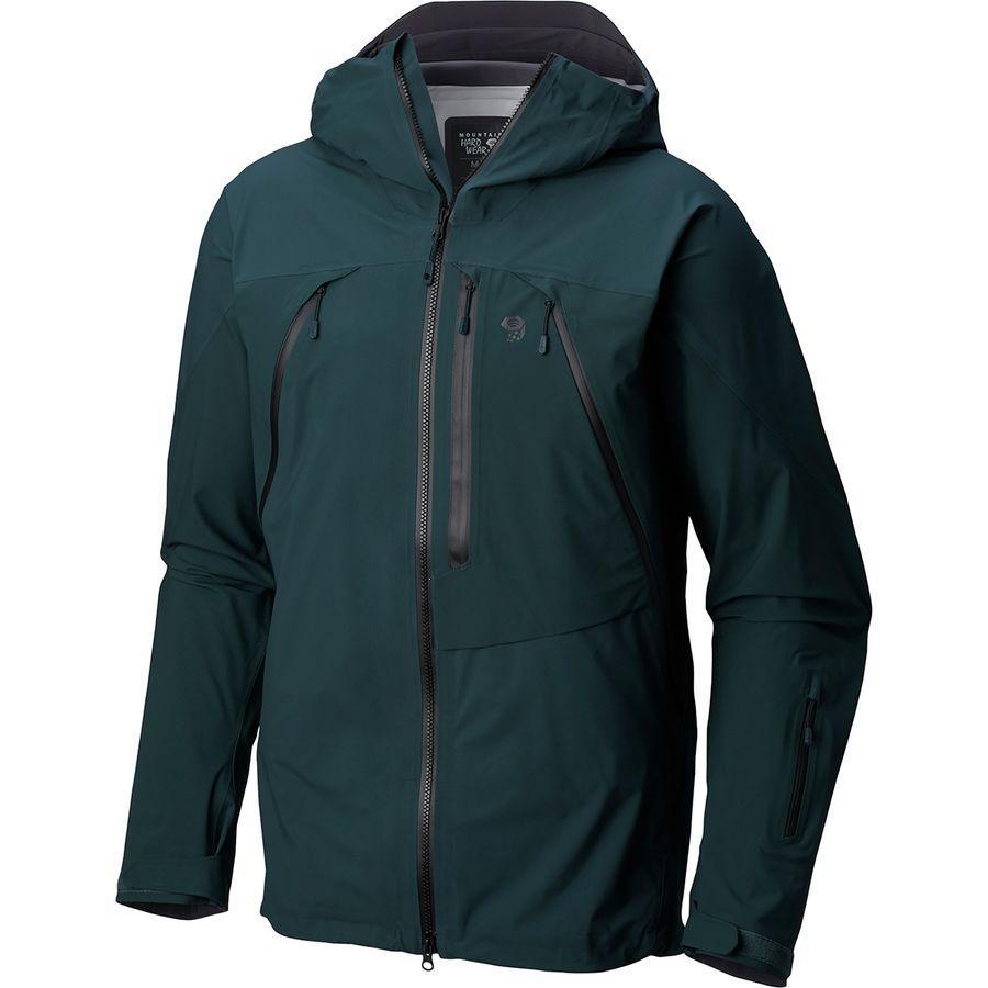 (取寄)マウンテンハードウェア メンズ クラウドシーカー ジャケット Mountain Hardwear Men's Cloudseeker Jacket Blue Spruce