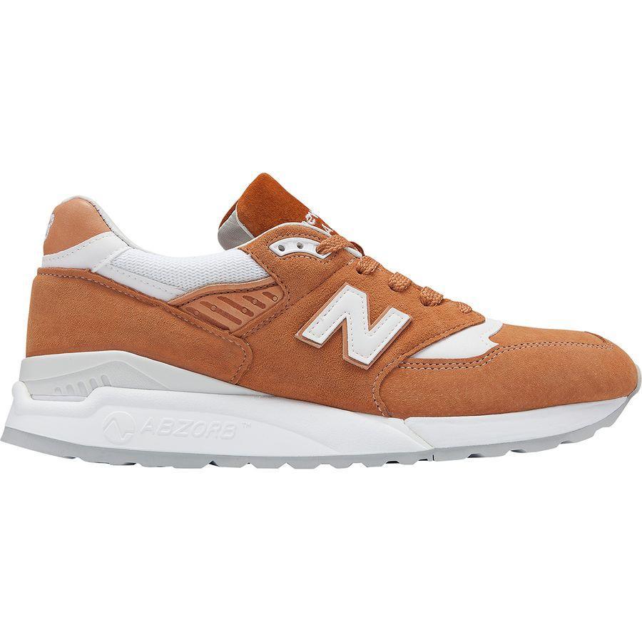 (取寄)ニューバランス メンズ 998T シューズ New Balance Men's 998T Shoe Brown Sugar/White