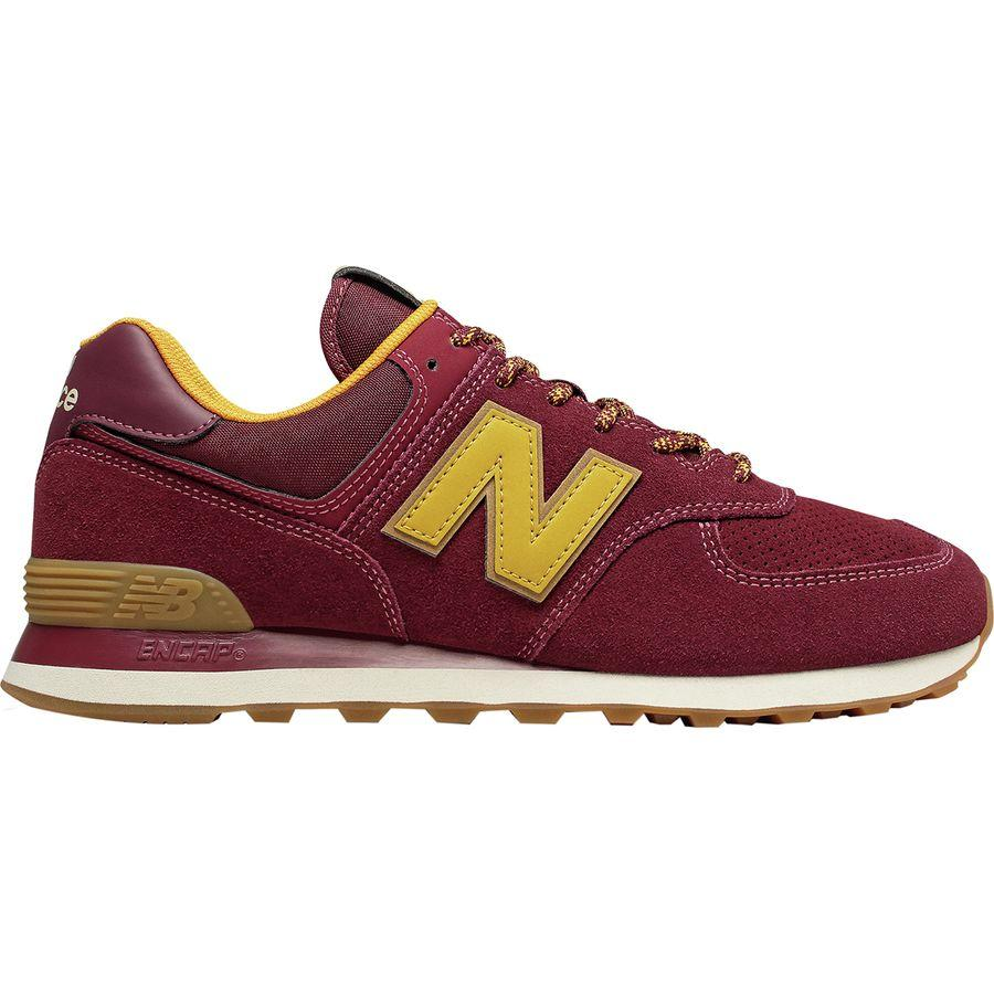(取寄)ニューバランス メンズ 574トレイル シューズ New Balance Men's 574 Trail Shoe Mercury Red/Gold Rush