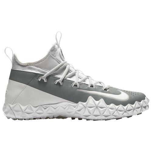 (取寄)ナイキ メンズ アルファ ハラチ 6 エリート ターフ ラクロス Nike Men's Alpha Huarache 6 Elite Turf LAX White White Cool Grey Wolf Grey