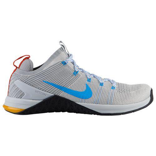 (取寄)ナイキ メンズ メトコン DSX フライニット 2 Nike Men's Metcon DSX Flyknit 2 White Blue Hero Pure Platinum Team Orange