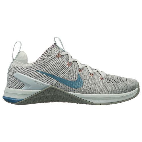 (取寄)ナイキ レディース メトコン DSX フライニット 2 Nike Women's Metcon DSX Flyknit 2 Matte Silver Celestial Teal Light Silver