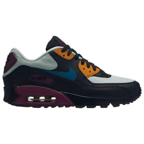 (取寄)ナイキ レディース エア マックス 90 Nike Women's Air Max 90 Light Silver Geode Teal Black Bordeaux Yellow