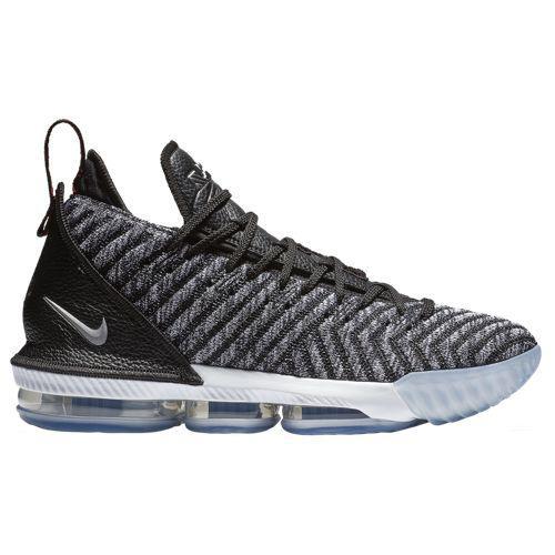 (取寄)ナイキ メンズ レブロン 16 レブロン ジェームズ Nike Men's LeBron 16 Lebron James Black White Grey