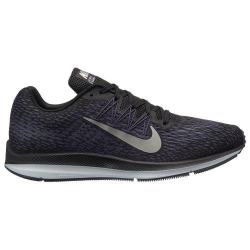 (取寄)ナイキ メンズ ズーム ウィンフロー 5 Nike Men's Zoom Winflo 5 Black Metallic Pewter Gridiron Light Carbon