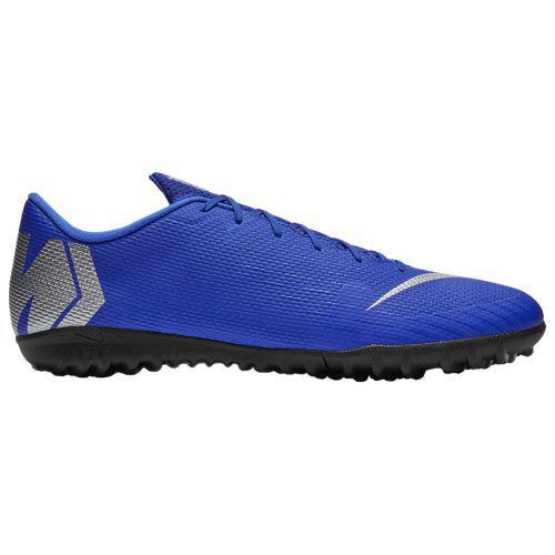 (取寄)ナイキ メンズ マーキュリアル ヴェイパー X 12 アカデミー tr Nike Men's Mercurial VaporX 12 Academy TF Racer Blue Metallic Silver Black