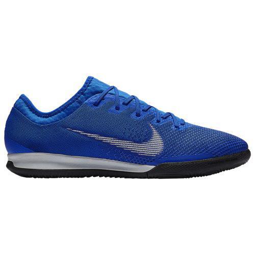 (取寄)ナイキ メンズ マーキュリアル ヴェイパー X 12 プロ ic Nike Men's Mercurial VaporX 12 Pro IC Racer Blue Metallic Silver Black