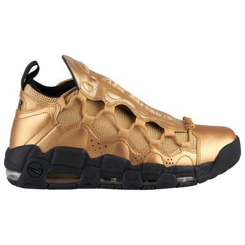 (取寄)ナイキ メンズ エア モア マネー Nike Men's Air More Money Metallic Gold Metallic Gold Black
