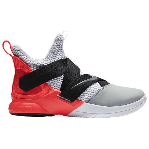 (取寄)ナイキ メンズ ソルジャー 12 SFG レブロン ジェームズ Nike Men's Soldier XII SFG Lebron James White Dark Grey Flash Crimson