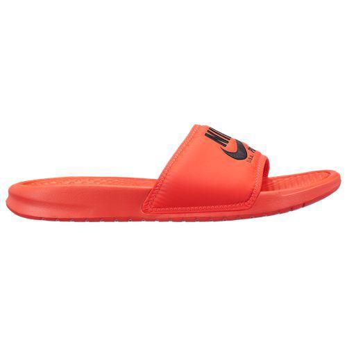 (取寄)NIKE ナイキ サンダル ベナッシ JDI テキスト SE Nike Men's Benassi JDI Text SE Bright Crimson Black