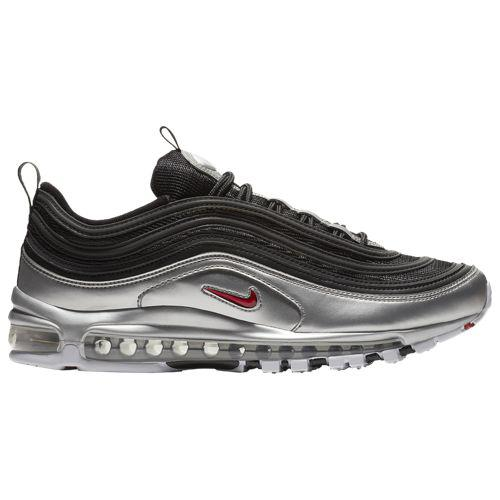 (取寄)ナイキ メンズ エア マックス '97 Nike Men's Air Max '97 Black Varsity Red Metallic Silver White