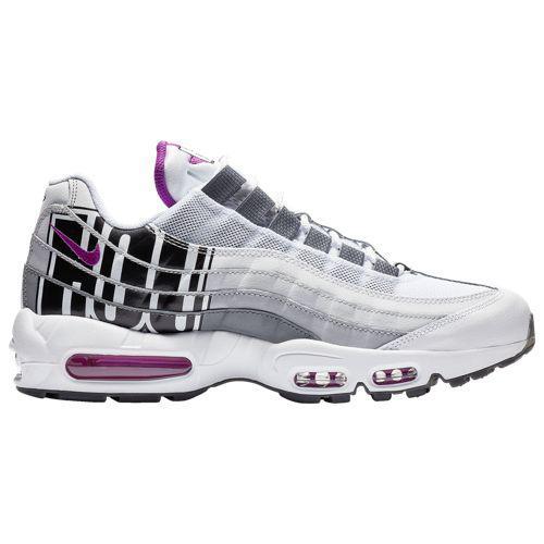 (取寄)ナイキ メンズ エア マックス 95 Nike Men's Air Max 95 Vivid Purple Black Cool Grey Wolf Grey