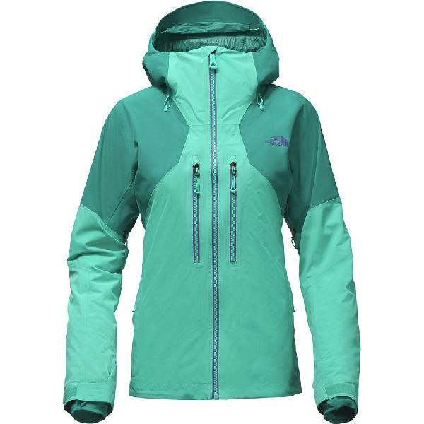 (取寄)ノースフェイス レディース パウダー ガイド フーデッド ジャケット The North Face Women Powder Guide Hooded Jacket Vistula Blue/Harbor Blue