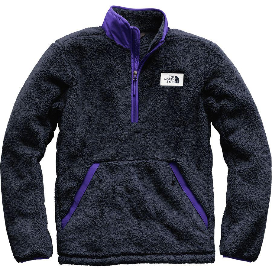 ノースフェイス メンズ Campshire フリース プルオーバー ジャケット The North Face Men's Campshire Fleece Pullover Urban Navy/Deep Blue