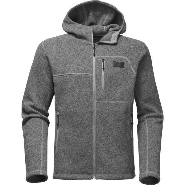 (取寄)ノースフェイス メンズ ゴードン リヨン フーデッド フリース ジャケット The North Face Men's Gordon Lyons Hooded Fleece Jacket Tnf Medium Grey Heather