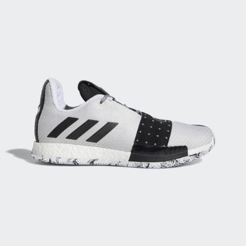 (取寄)アディダス メンズ ハーデン ボリューム 3シューズ バスケットボールシューズ adidas Men's Harden Vol. 3 Shoes Cloud White / Core Black / Light Solid Grey