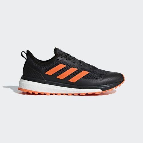 (取寄)アディダス メンズ レスポンス トレイル ランニングシューズ adidas Men's Response Trail Shoes Core Black / Hi-Res Orange / Carbon